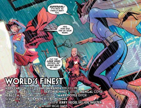 Batgirl Annual #1 interior art