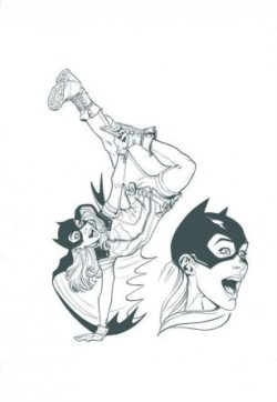 Batgirl_DC Cover Girls_Joelle Jones
