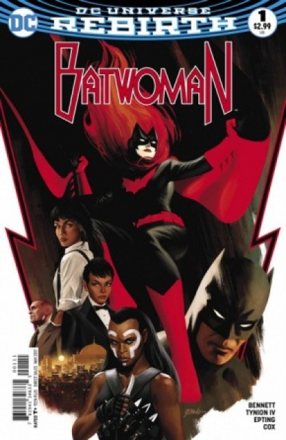 Batwoman #1 cover