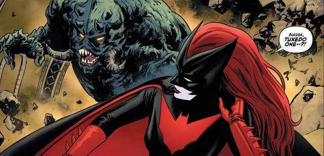 Batwoman #1 interior art