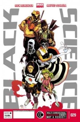 Black Science Image Comics April Fools variant cover