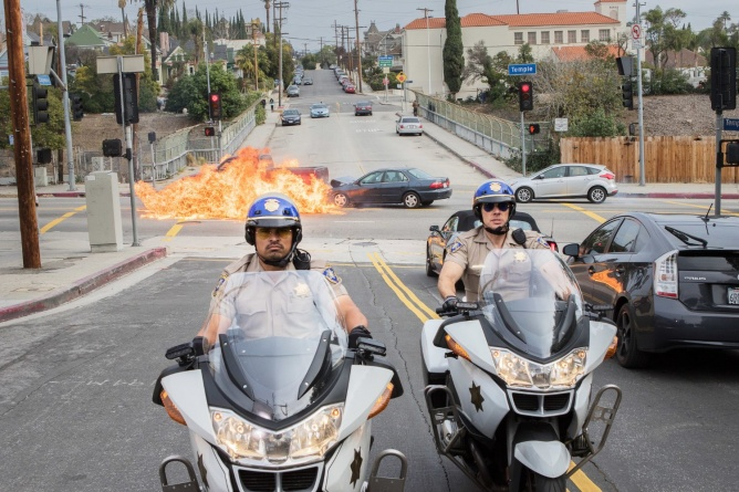 CHiPs giveaway - Ponch and Jon