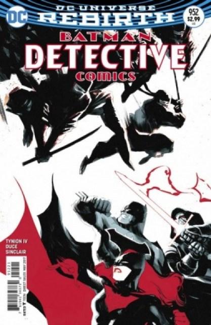 Detective Comics #952 variant cover