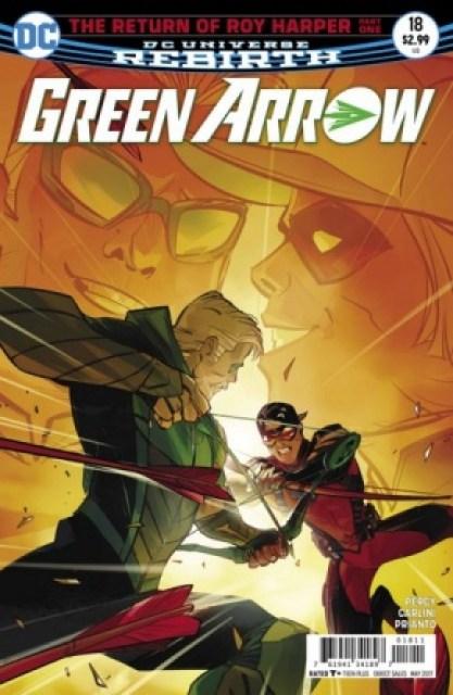 Green Arrow #18 cover