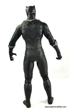 Hot Toys Black Panther figure review - rear