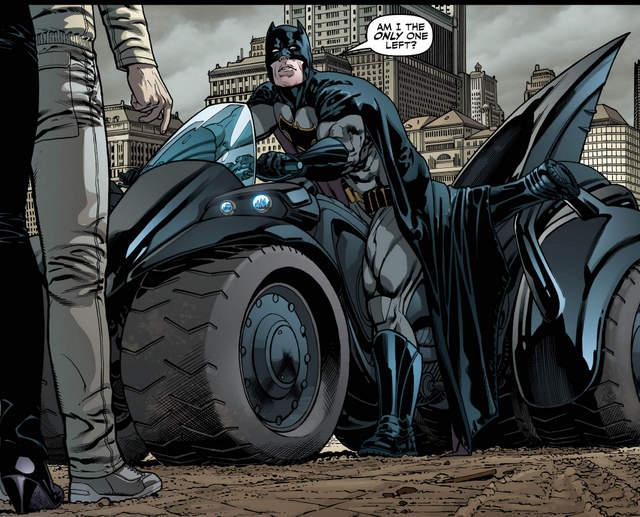 Justice League #16 interior art