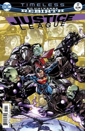 Justice League #17 cover