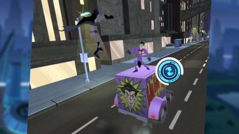 Justice League Action Run Batman vs Joker