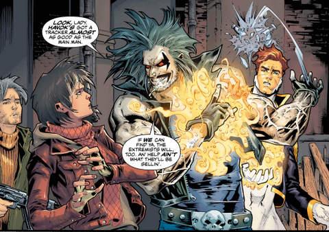 Justice League of America #3 interior art