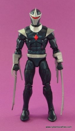 Marvel Legends Darkhawk figure review - front side