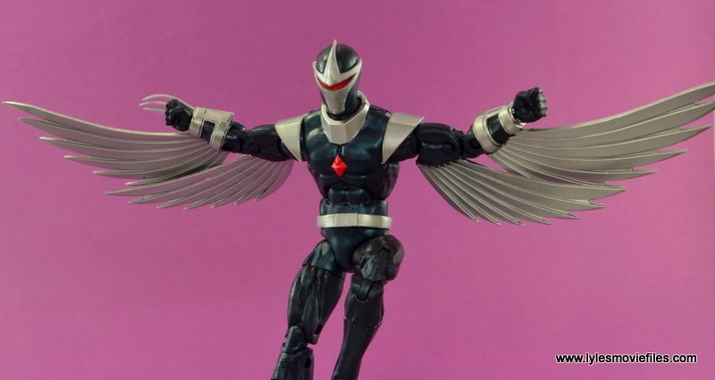 Marvel Legends Darkhawk figure review - main pic