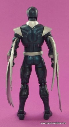Marvel Legends Darkhawk figure review - rear side