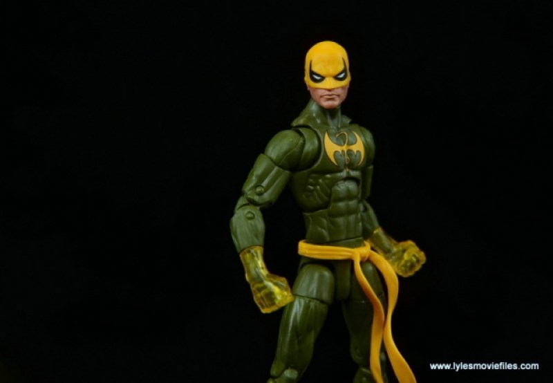 Marvel Legends Iron Fist figure review - finale shot