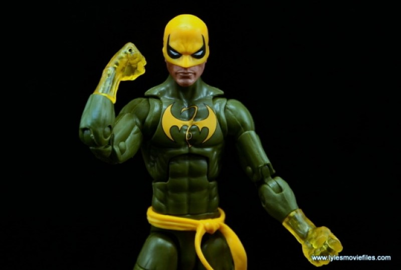 Marvel Legends Iron Fist figure review - fist up