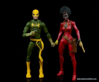 Marvel Legends Iron Fist figure review - with Misty Knight