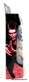 Marvel Legends Morbius figure review - package side