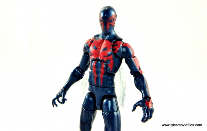 Marvel Legends Spider-Man 2099 figure review - main pic