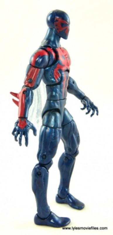 Marvel Legends Spider-Man 2099 figure review -right side