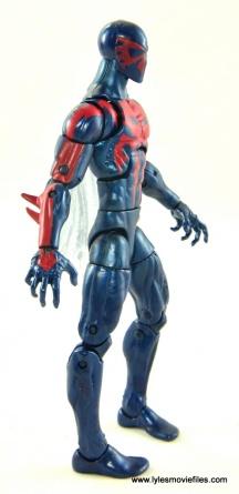 Marvel Legends Spider-Man 2099 figure review -right side