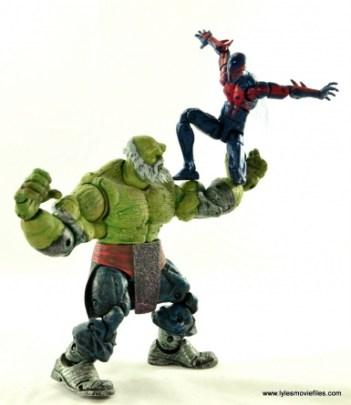 Marvel Legends Spider-Man 2099 figure review -vs Maestro