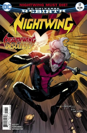 Nightwing #17 cover
