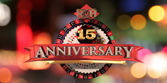 ROH 15th Anniversary banner