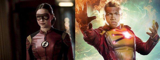 Season 3 Legends of Tomorrow swaps - Jesse Quick for Firestorm