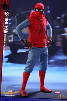 Spider-Man Homecoming Homemade Suit - hands on hips
