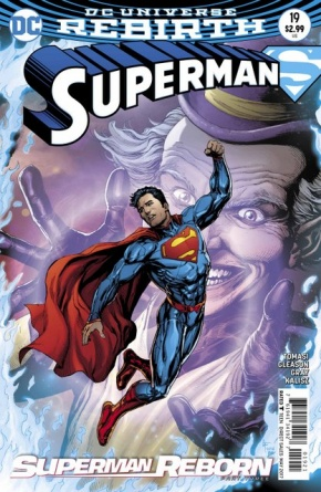 Superman #19 variant cover