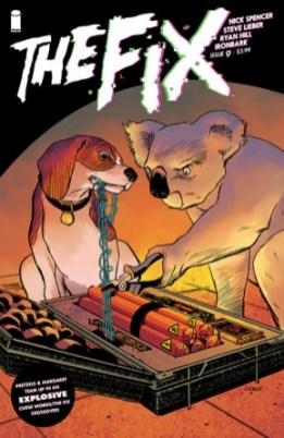 The Fix Image Comics April Fools variant cover