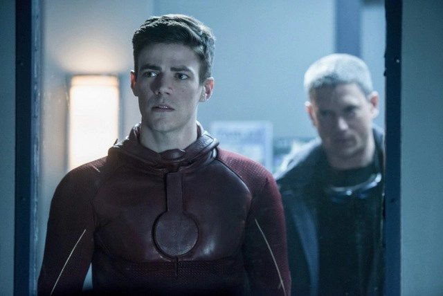 The Flash Into the Speed Force - Barry and Snart