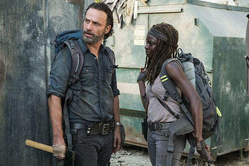 The Walking Dead Say Yes - Rick and Michonne