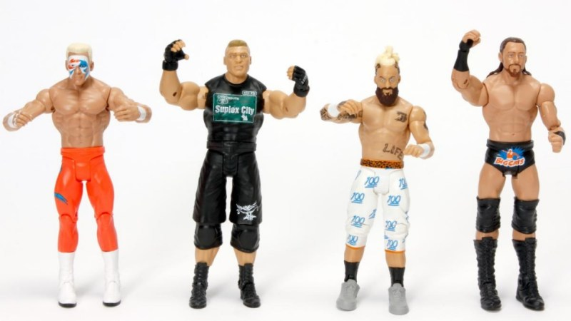 WWE Core Series - Sting, Brock Lesnar, Big Cass and Enzo Amore