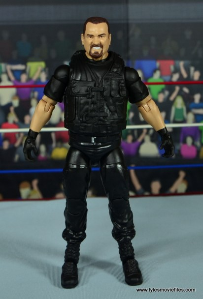 WWE Elite Big Boss Man figure review - front
