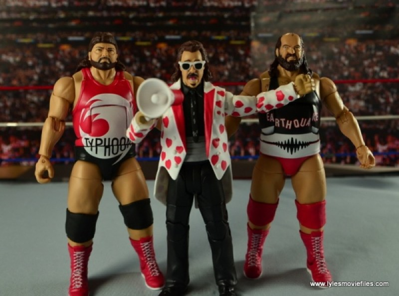 WWE Elite Natural Disasters figure reviews -with Jimmy Hart