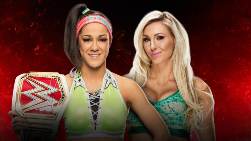 WWE Fastlane 2017 - Bayley vs Charlotte