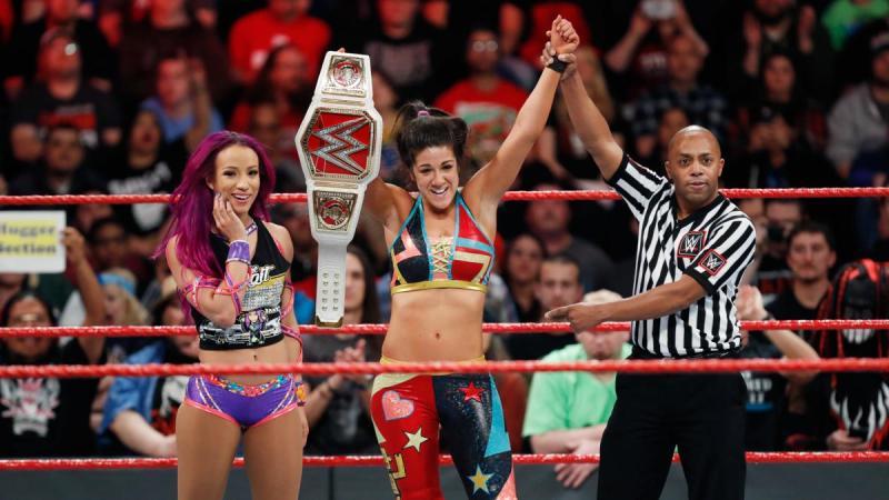 WWE Fastlane 2017 - Sasha Banks and Bayley