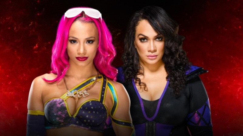 WWE Fastlane 2017 -Sasha Banks vs Nia Jax