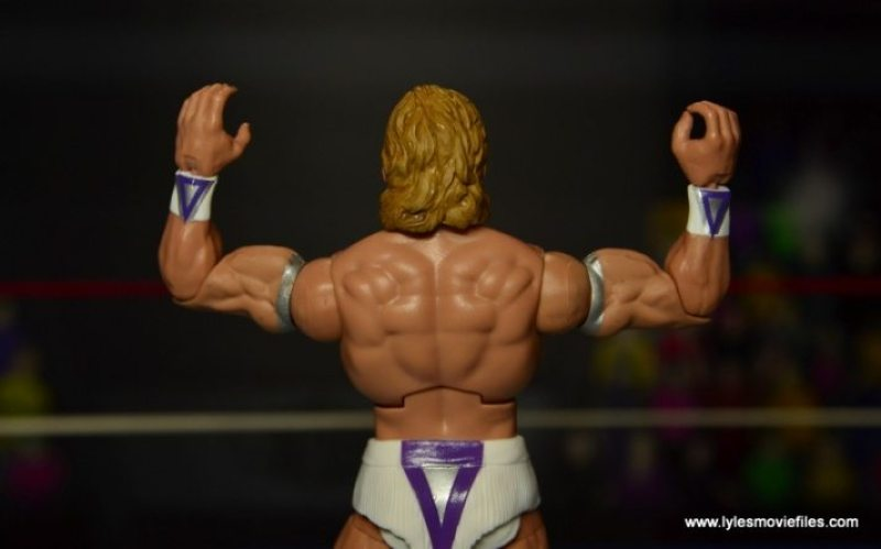 WWE Narcissist Lex Luger figure review - back pose
