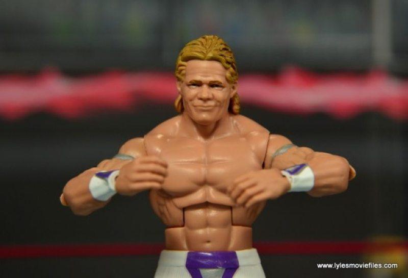 WWE Narcissist Lex Luger figure review - crab flex pose