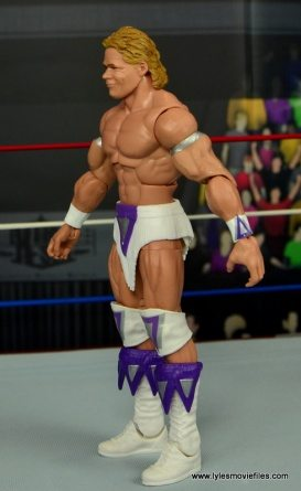 WWE Narcissist Lex Luger figure review - left side
