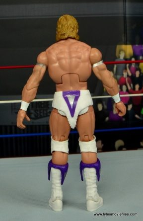 WWE Narcissist Lex Luger figure review - rear