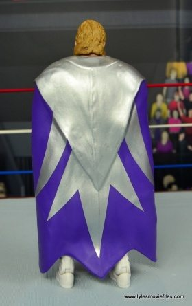 WWE Narcissist Lex Luger figure review - robe back