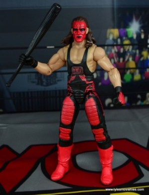 WWE Wolfpac Sting figure review -holding bat