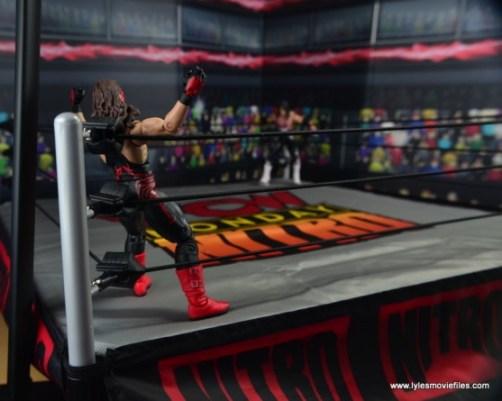 WWE Wolfpac Sting figure review -preparing for Stinger Splash