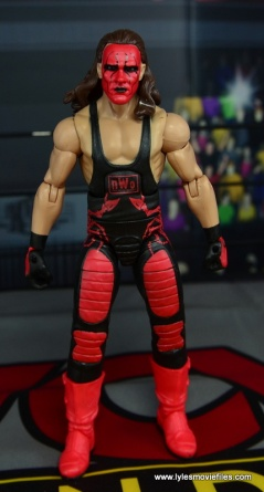 WWE Wolfpac Sting figure review -straight