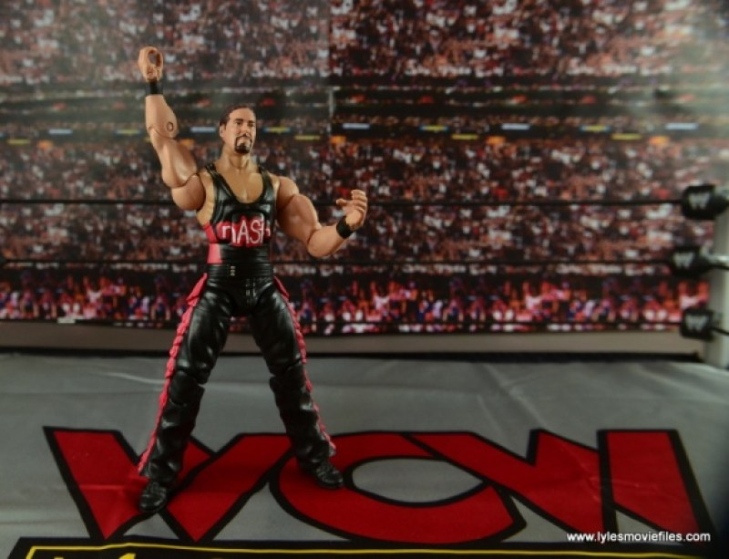 WWE nWo Wolfpac Kevin Nash Elite figure review - fist up