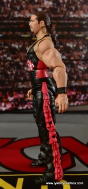 WWE nWo Wolfpac Kevin Nash Elite figure review -left side