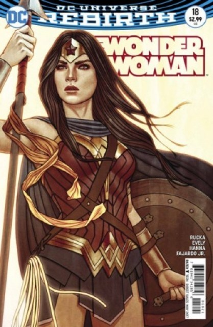 Wonder Woman #18 variant cover