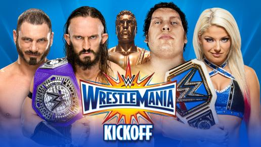 WrestleMania 33 preview - WrestleMania Kick off